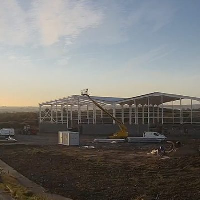 The Build of our Bespoke Warehouses for Cask Storage – Timelapse