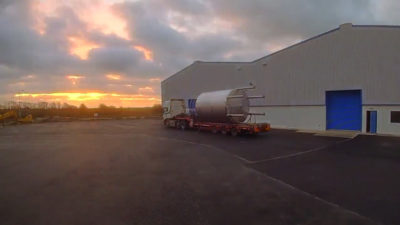 THE BUILD OF OUR BESPOKE WAREHOUSES FOR CASK STORAGE (PHASE 2) – TIMELAPSE