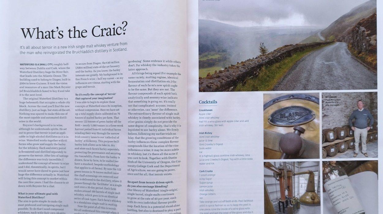 What's the Craic? Australian Gourmet Traveller WINE Magazine