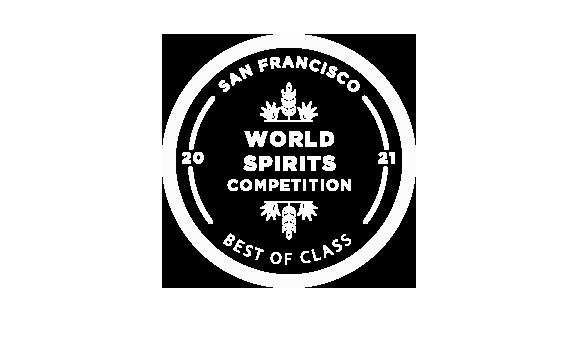 San Fransisco World Spirits Competition – Best of Class Winnner